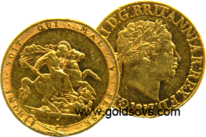 George III 1818 Gold Sovereign