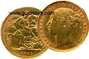 Sydney Minted Gold Sovereign