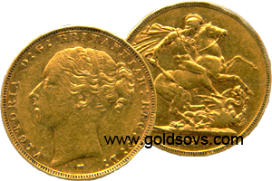 1885 Melbourne Gold Sovereign