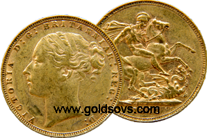 1885 British Sovereign