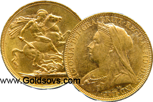 1894 Gold Sovereign