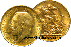 Perth 1913 Gold Sovereign