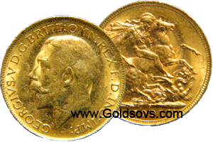 Perth Gold Sovereign 1930