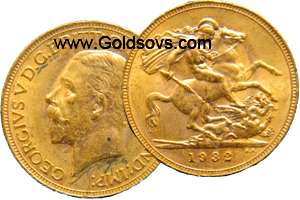 George V 1932 Gold Sovereign